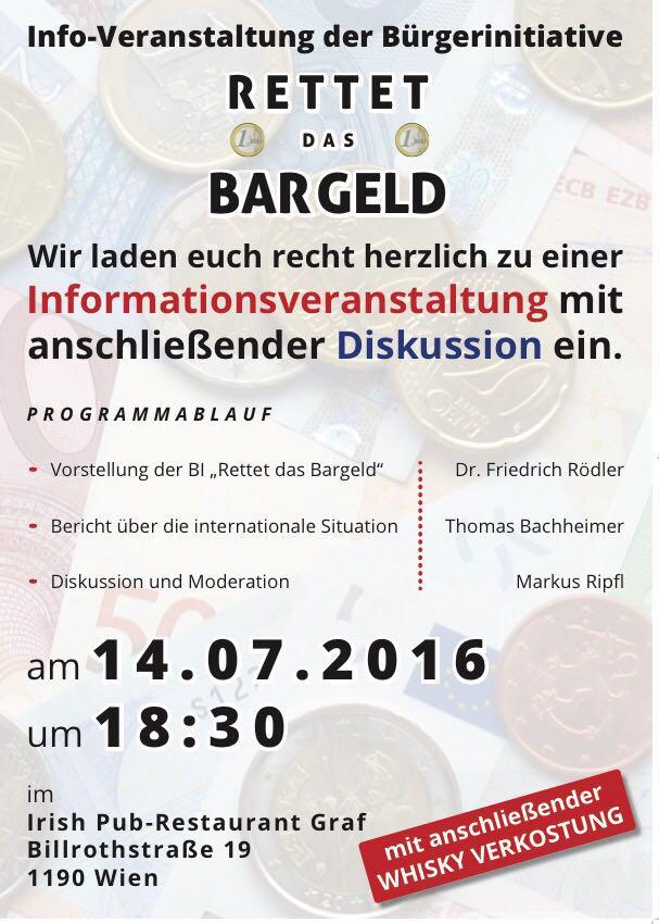 Info Veranstaltung am14.07.2016